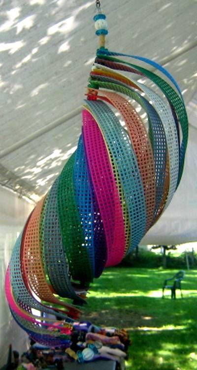 Barbie Plastic Canvas Hot Air Balloon Plastic Canvas