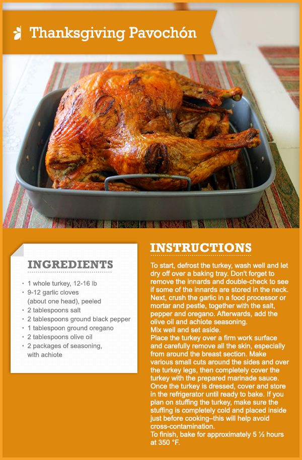 How to make Pavochón howto recipe thanksgiving Recipe