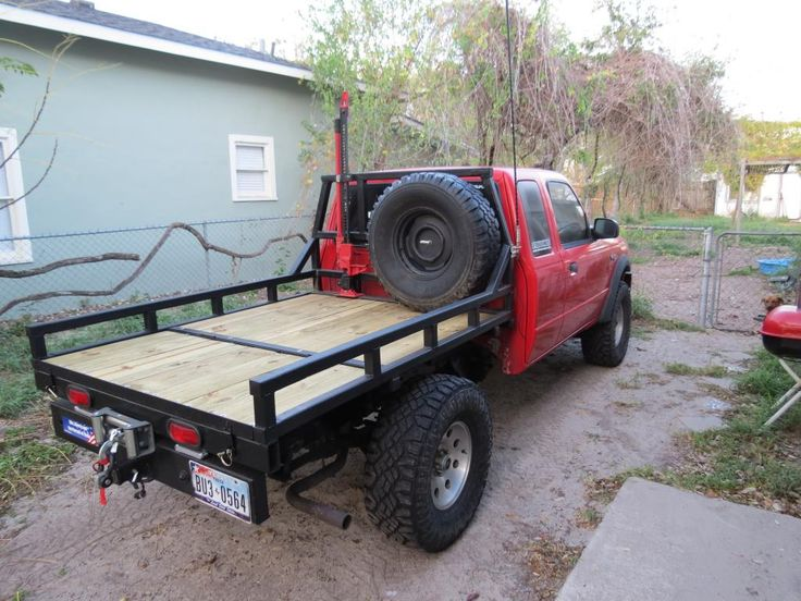 Ford Ranger Custom Flatbed Google Search Ideas For My