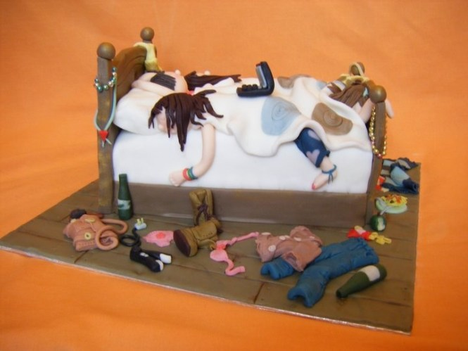 Taylor S Bedroom Cake All Edible Even The Age Junk And Floorboards