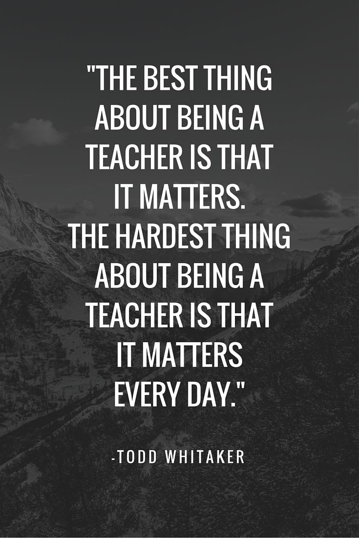 15 Inspirational Quotes for Teachers in the New Year