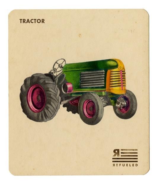 Tractor Vintage Illustration Pinterest Vintage