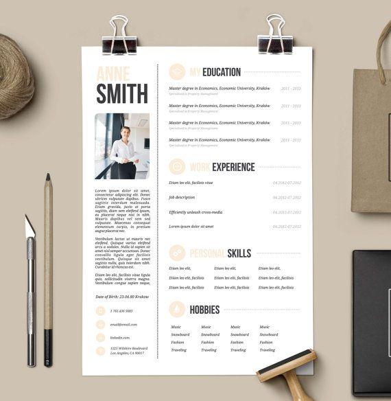 resume design resume and free cover letter on pinterest