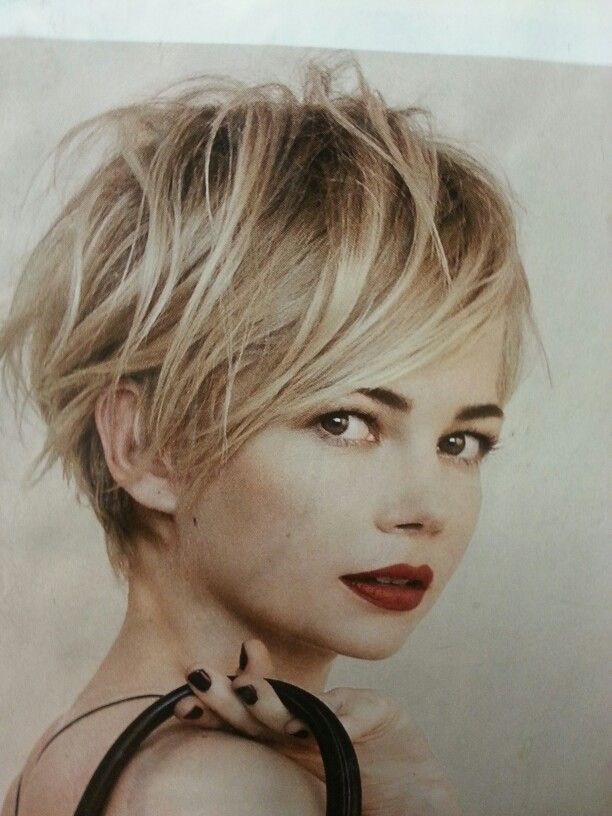 1000 Ideas About Messy Pixie Cuts On Pinterest Messy