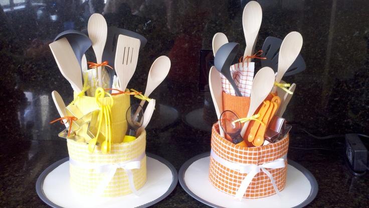 Super Cute Kitchen Gadget Tower/cake For Bridal Shower