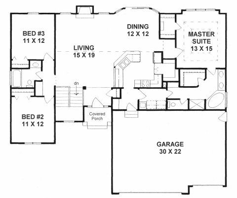 popular ranch house floor plans. popular. home plan and house