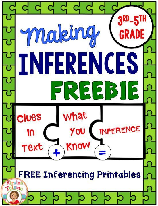 FREE Inferences Printables Ready To Use Inferences