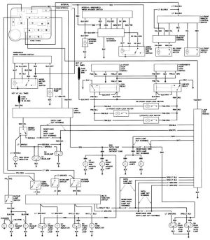 1990 Ford Steering Column Diagram | Repair Guides | Wiring Diagrams | Wiring Diagrams | AutoZone