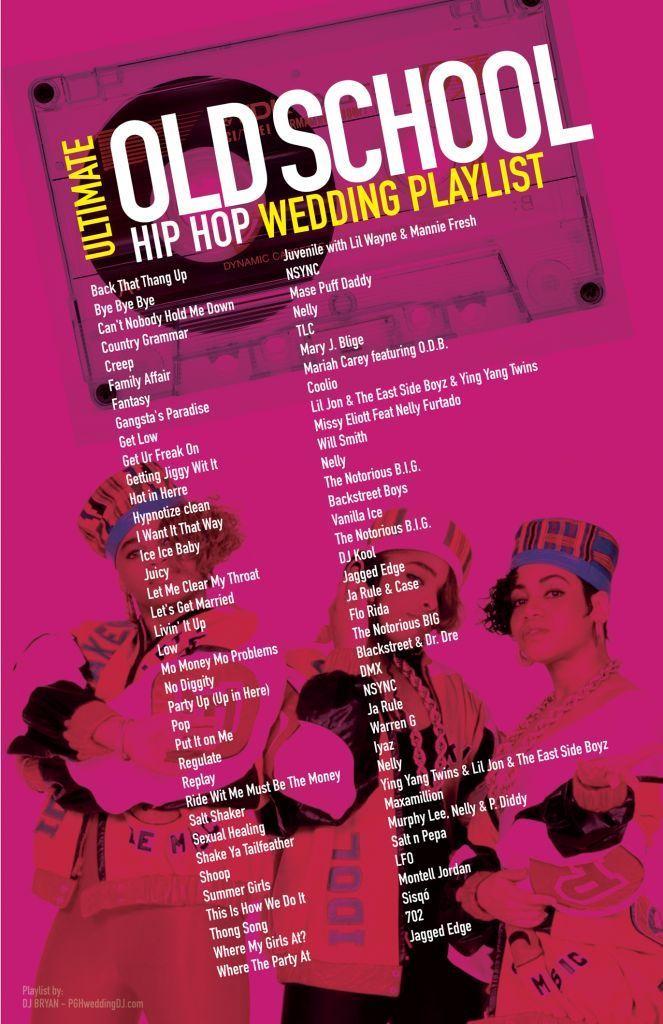 Ultimate Old School Hip Hop Wedding Playlist most