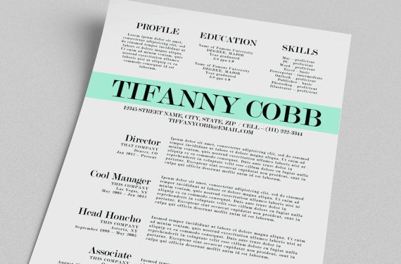 Free Word Templates Resume | Sample Resume And Free Resume Templates