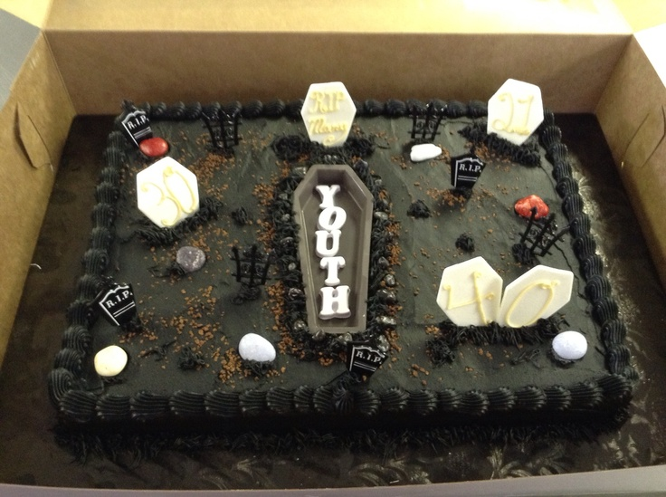 17 Best Images About Graveyard Cakes On Pinterest