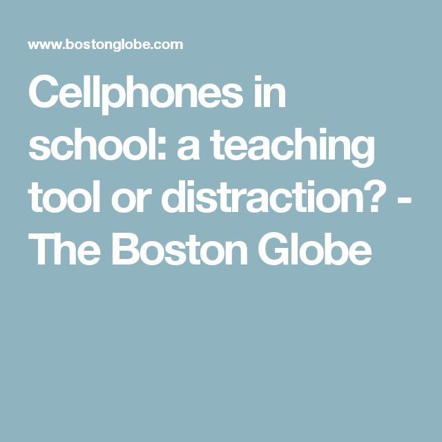 Cell Phones In Classrooms Essay