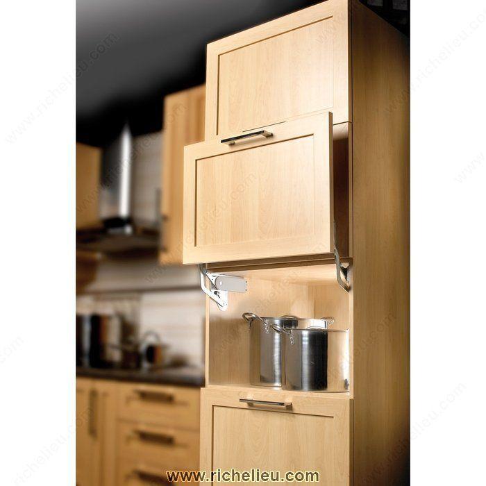 Hinge For Parallel Lift Door For Appliance Garage