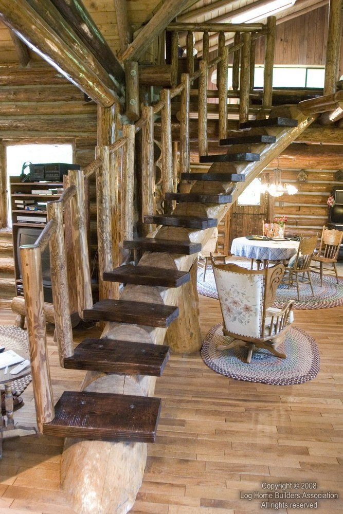 139 Best Rustic Staircase Images On Pinterest