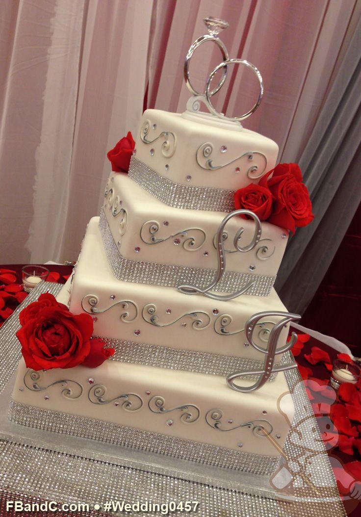 Design W 0457 Fondant Wedding Cake 161296