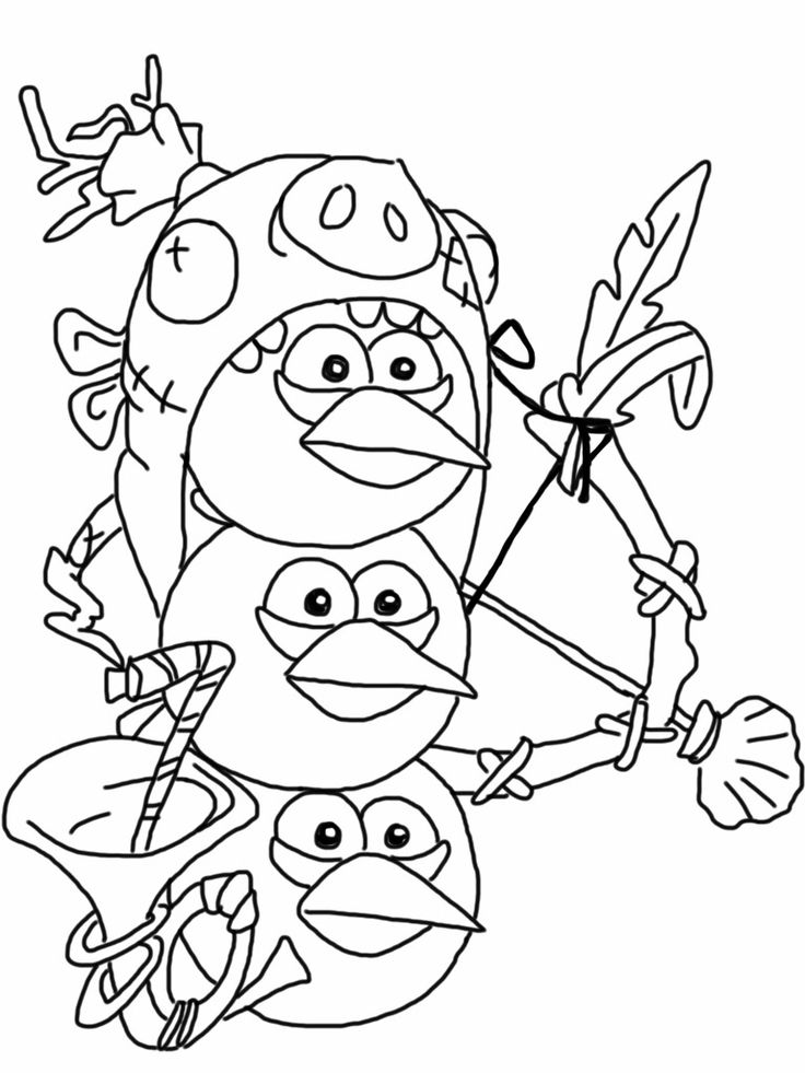 angry birds birds and coloring pages on pinterest