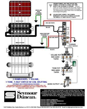 Wiring Diagram | PRS Dimarzio Seymour Duncan | Pinterest | Guitars and Guitar building