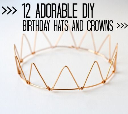 Finding a cute little hat or crown for your baby to wear on their special day ca