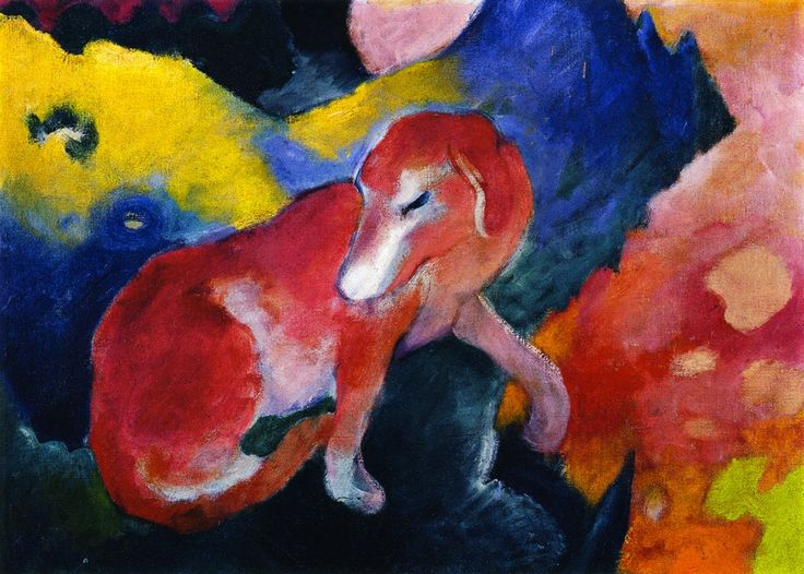 758 Best Images About Franz Marc On Pinterest English Cubism And Jumping Horses