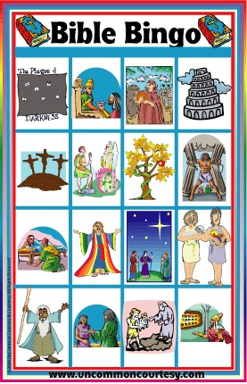 19 Best Images About Christian Bingo Games