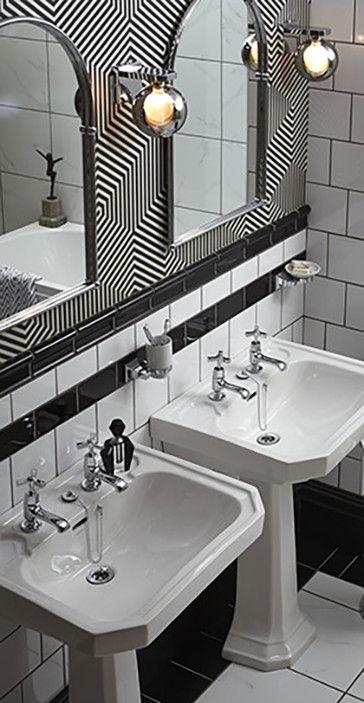 25 Best Ideas About Art Deco Bathroom On Pinterest Art