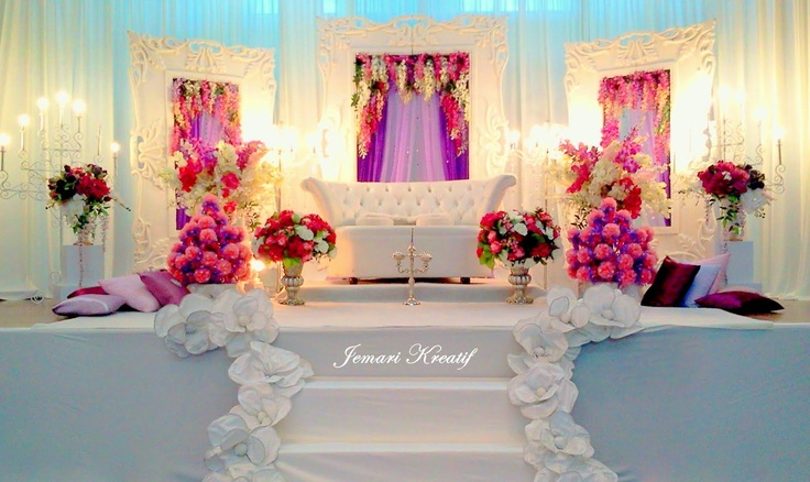 Wedding Stage Like The Colors Maybe A Darker One Desi