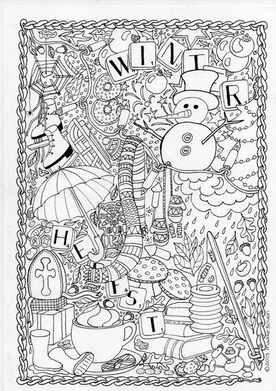 mumsboven tekeningen Adult coloring Pinterest Blog