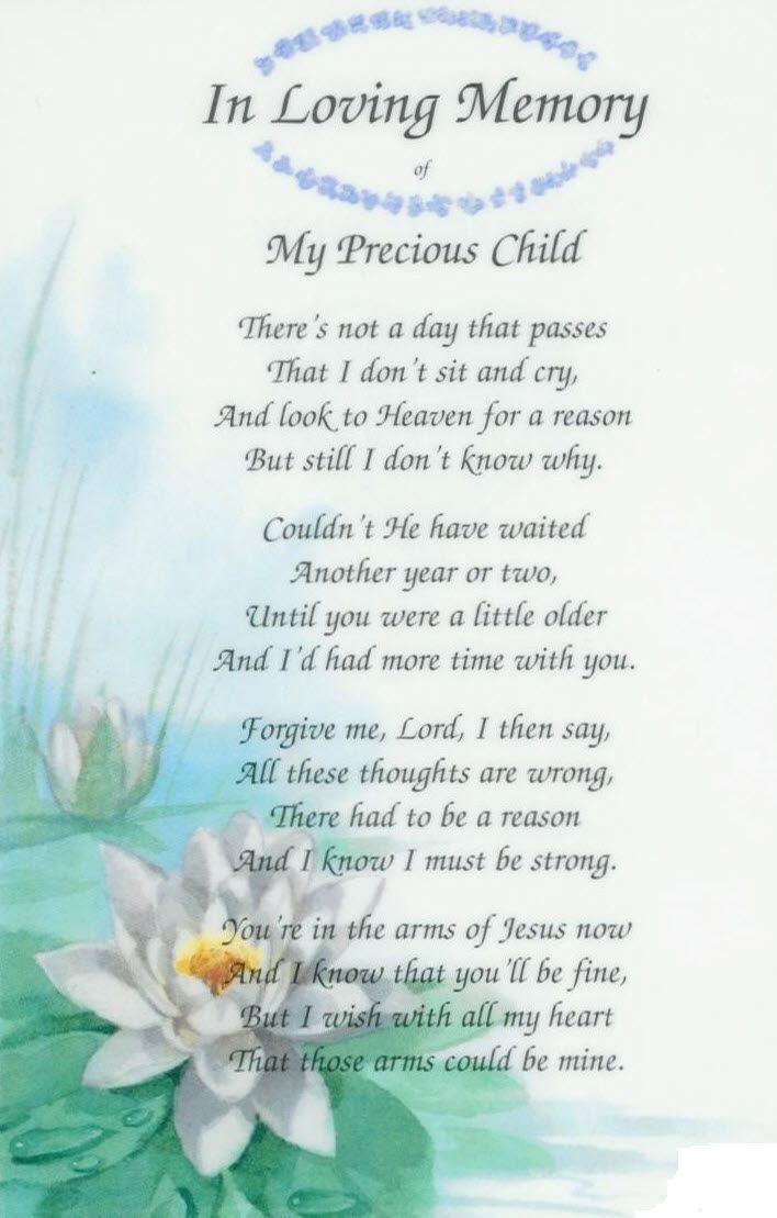In Loving Memory Baby Poems Rosss 3rd Year In Heaven My Angel Baby Pinterest Girls