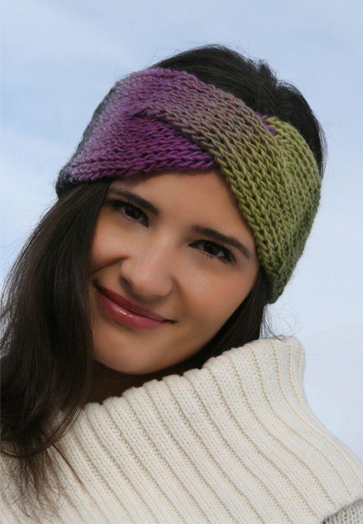 Knifty Knitter Ear Warmer Pattern