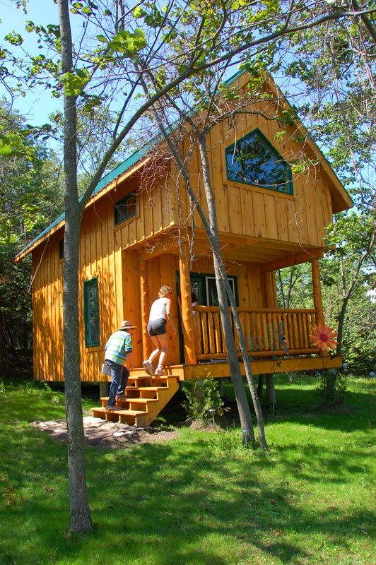 Make your next holiday a green one! Eco cabins, eco lofts