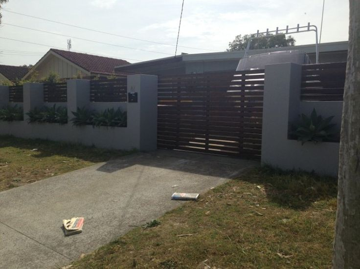 21 Best Images About Perimeter Wall And Gates On Pinterest