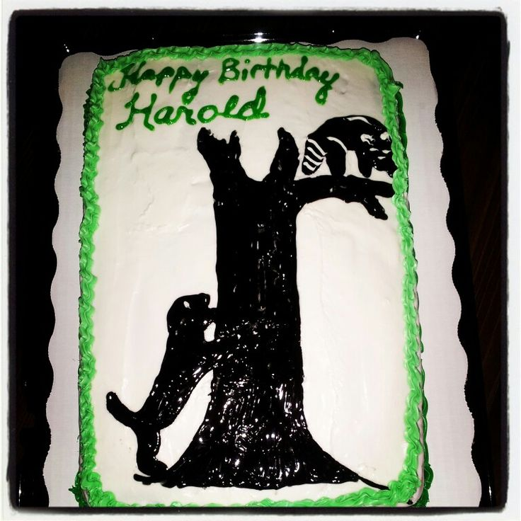 Coon Hunting Cake I Made My Cakes And Treats I Ve Made