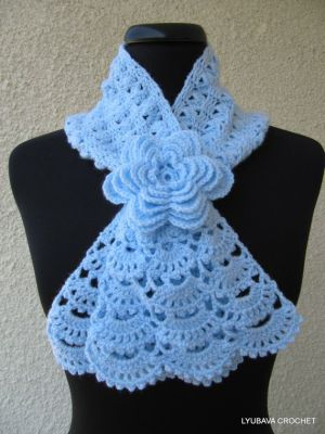 17 Best ideas about Crochet Lace Scarf on Pinterest | Crochet stitches chart, Crochet scarf