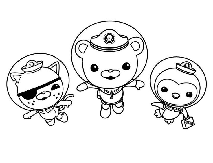 octonauts coloring pages color pages pinterest coloring