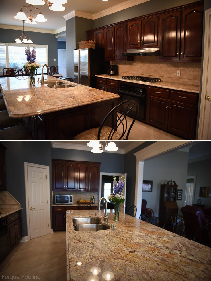 Beautiful Traditional Kitchen With Exotic Granite