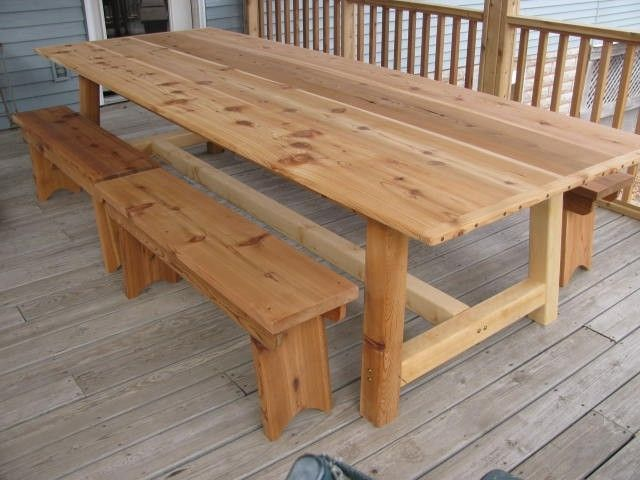 1000+ Images About Outdoor Dining Tables On Pinterest