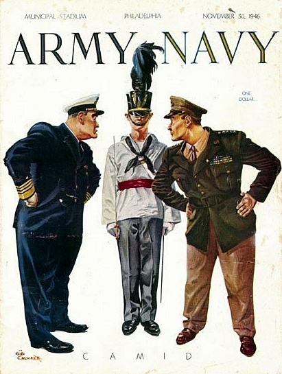 Army vs. Navy Game Program (1946) College Football