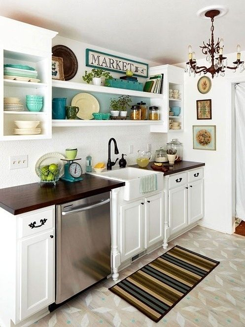 ideas for small kitchens photo. of