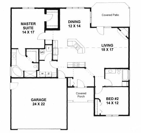 Small Casita Floor Plans 2000 House On Plan 1658 Handiced Accessible 2 Bedroom