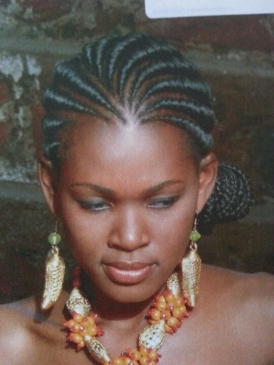 Ghana Weave with a bun Hair Pinterest Ghana and Buns