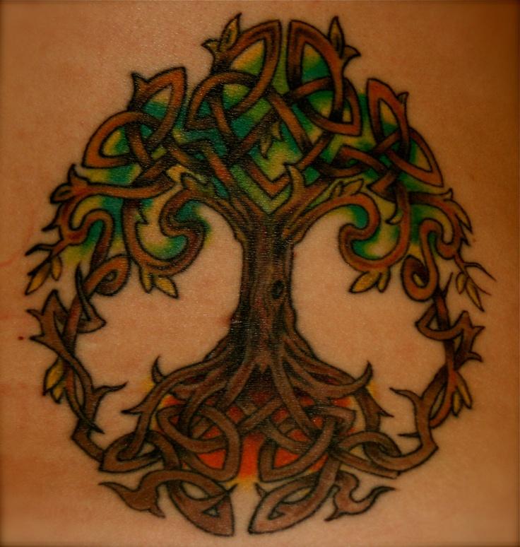 Celtic Tree of Life Tattoo INK Pinterest Life