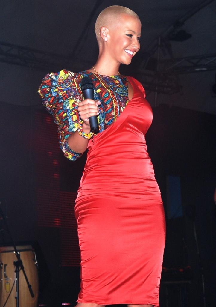More of Amber Rose in Ghana. SeAfrika Pinterest