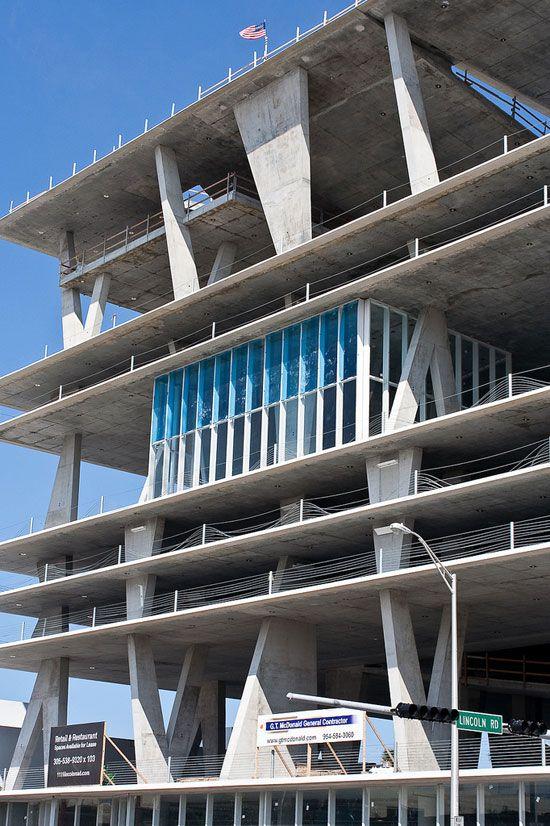 Santa Monica Mall Parking Structure
