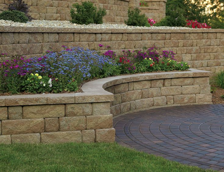 729 Best Images About Retaining Wall Ideas On Pinterest