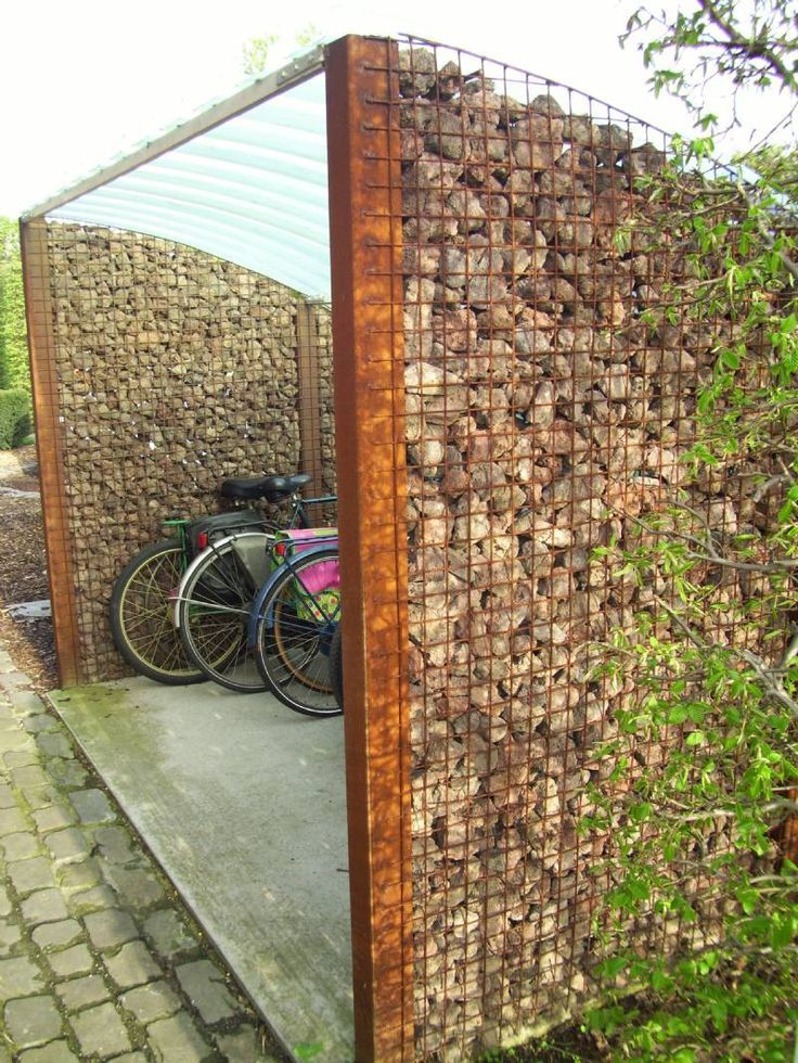 Gabion And Steel Shed Units In The Phoenix Area Custom