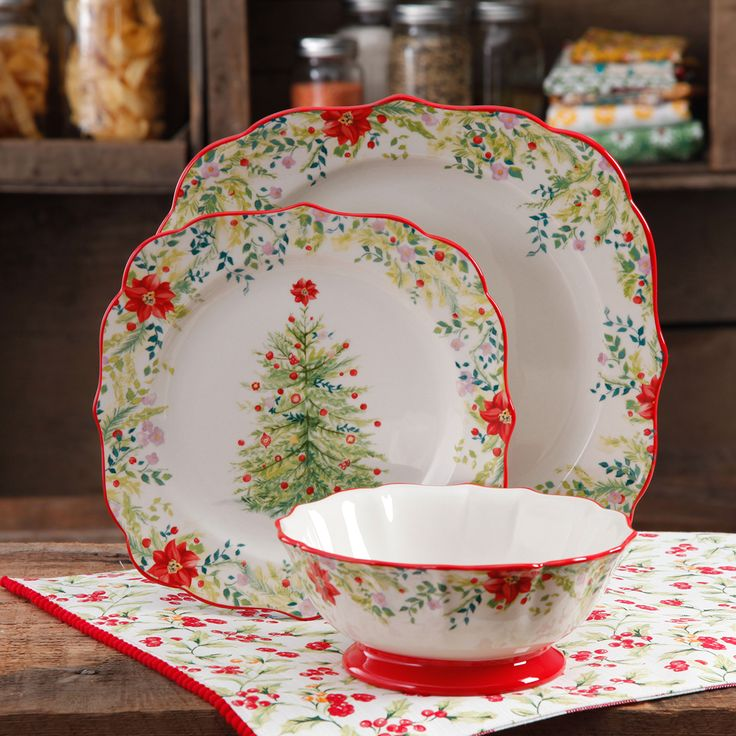 Holiday Gorgeousness Pie Dish And Pioneer Woman