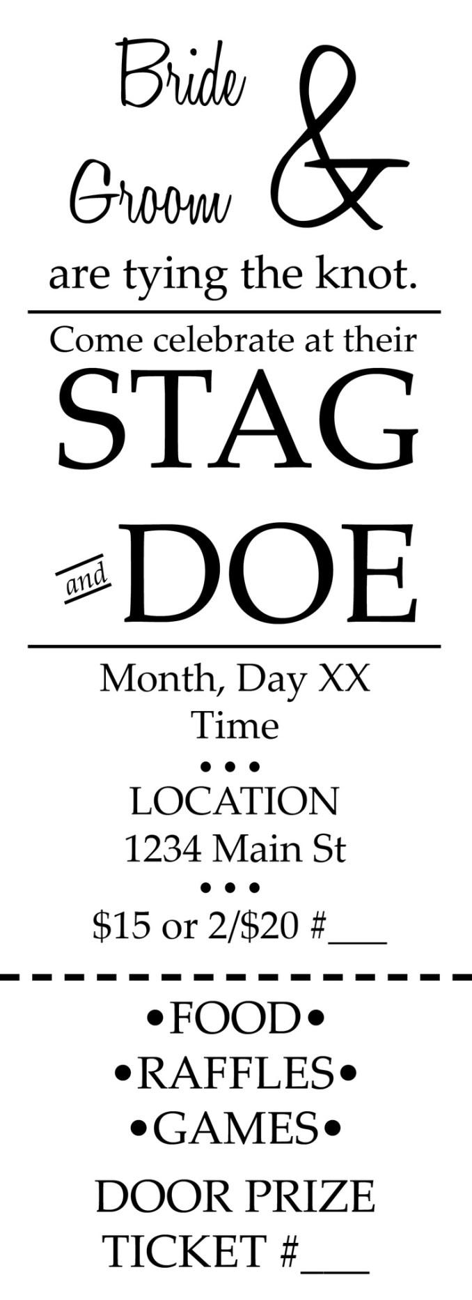 Funny Stag And Doe Invites | Newsinvitation.co