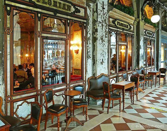 Venice's Historic Cafes Tatjana Zolotova on Pinterest