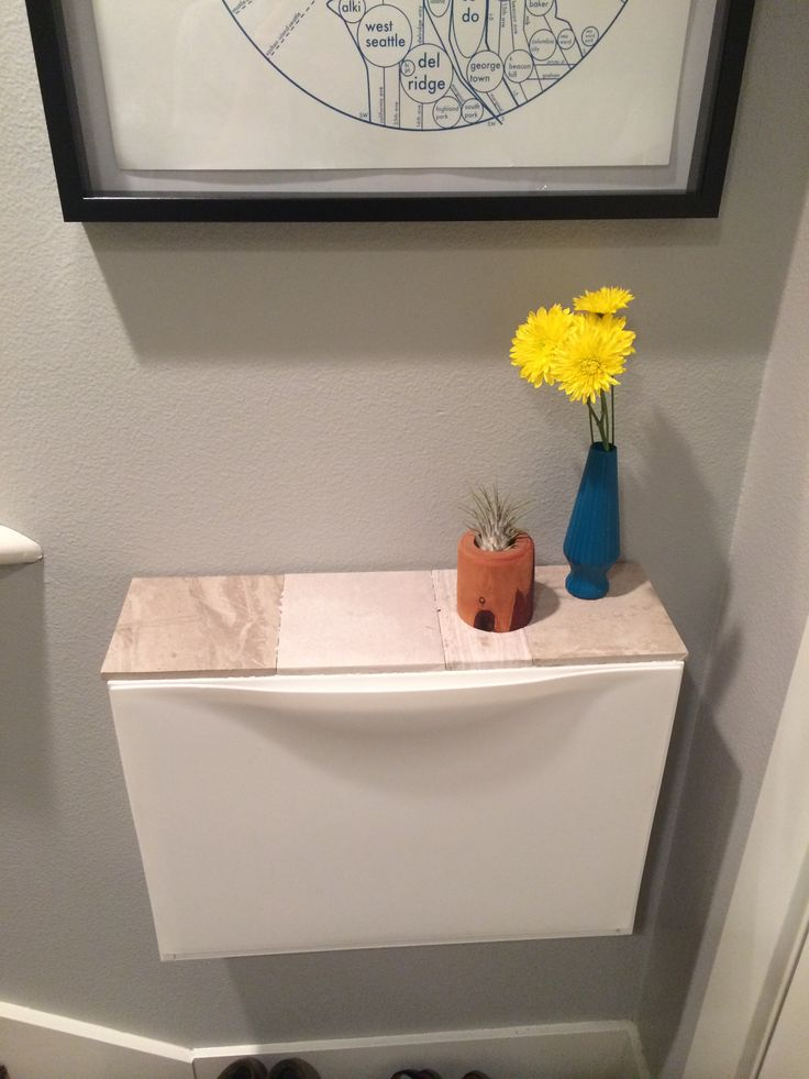 Gave My Ikea Trones Cabinet A Top Out Of Tile Samples