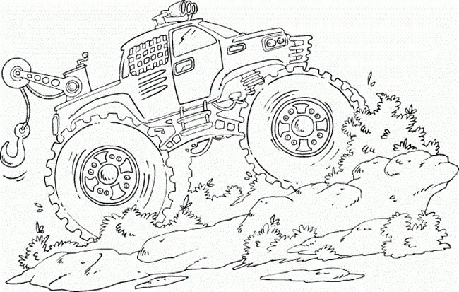 mud trucks coloring pages coloring pages pinterest coloring